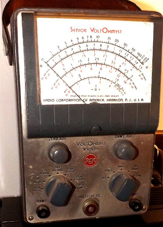 Old Ge Test Instruments : Antique radio test instruments at the museum of yesterday
